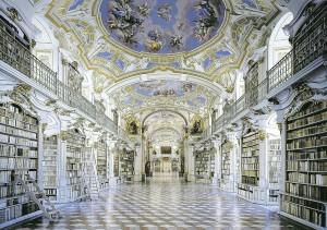 Stiftsbibliothek Admont . admont library (A)