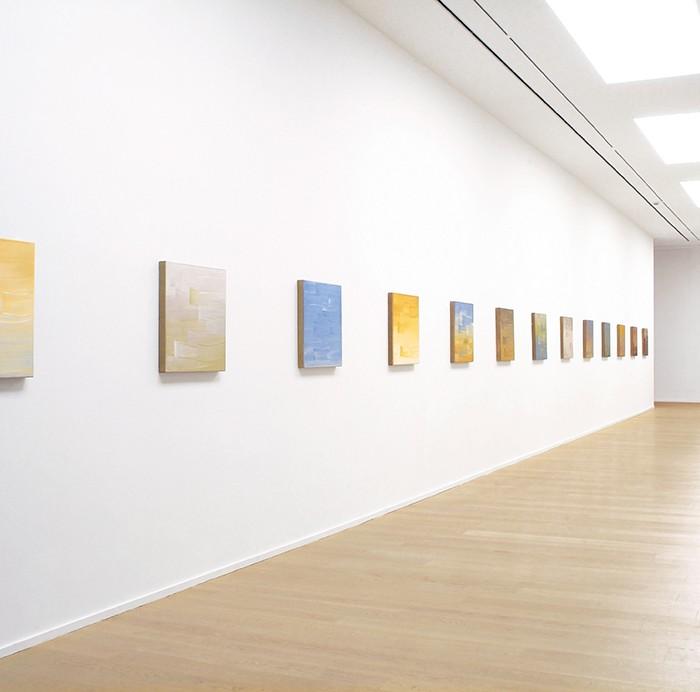 Ulrike Stubenboeck, Fokus Bibliothek / focus library, Museum für Gegenwartskunst, Stift Admont, 2008.