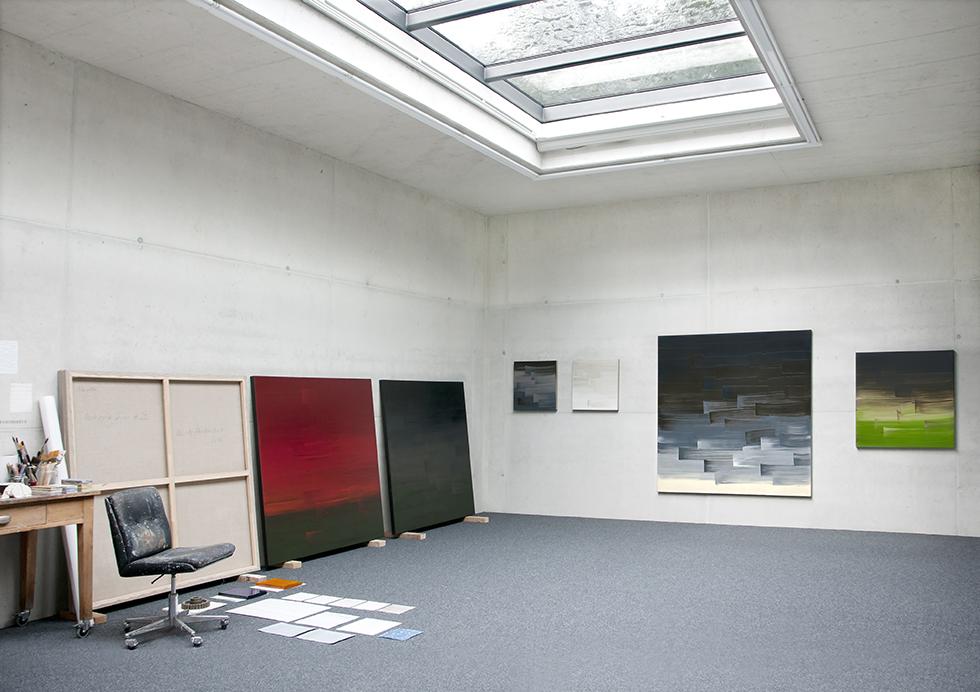Ulrike Stubenboeck, Studio / Atelier.