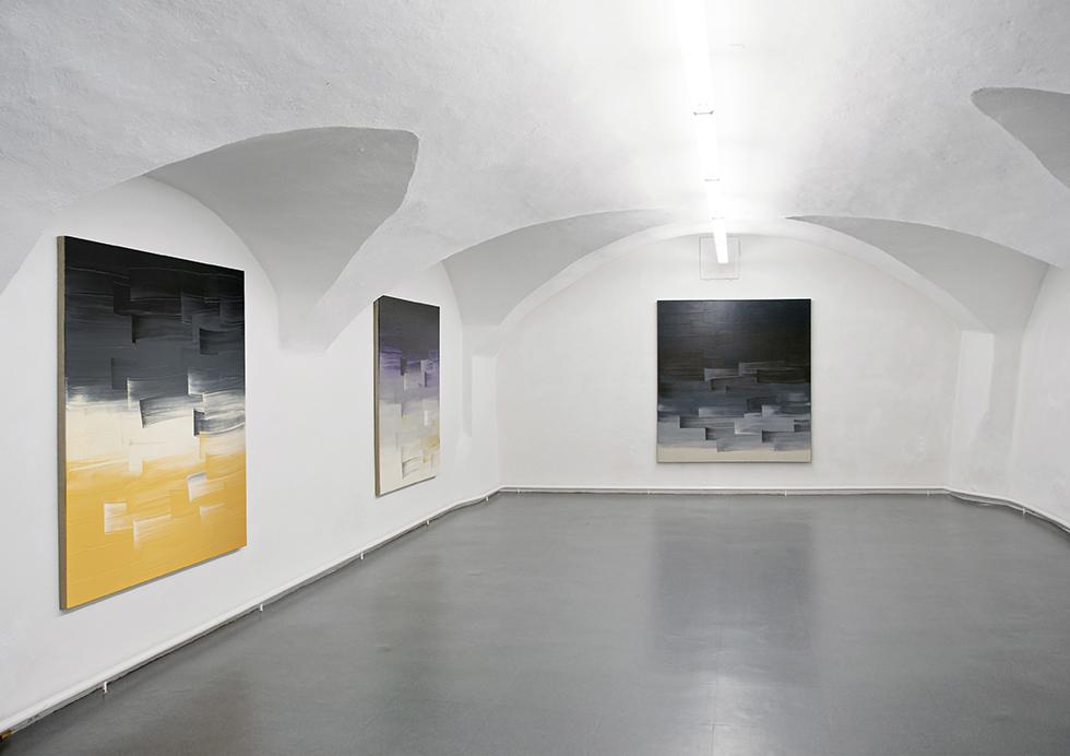 Ulrike Stubenboeck, Fading Into Colour, Galerie am Stein, Schärding, 2013.