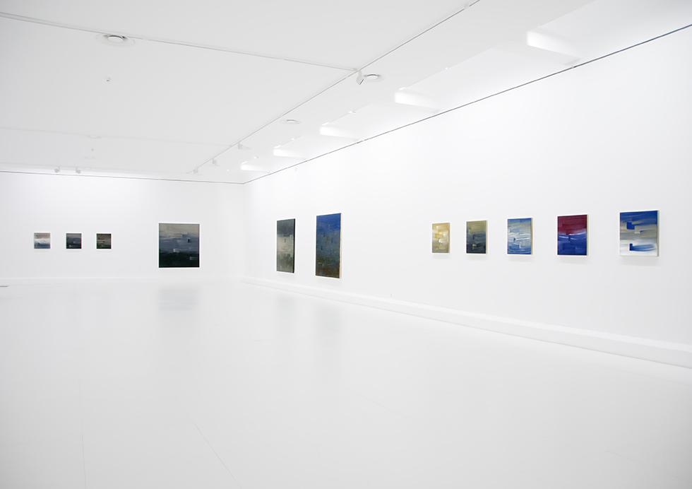 Ulrike Stubenboeck, Inuit & Indigo, Kunstraum Vaduz, Liechtenstein, 2010.